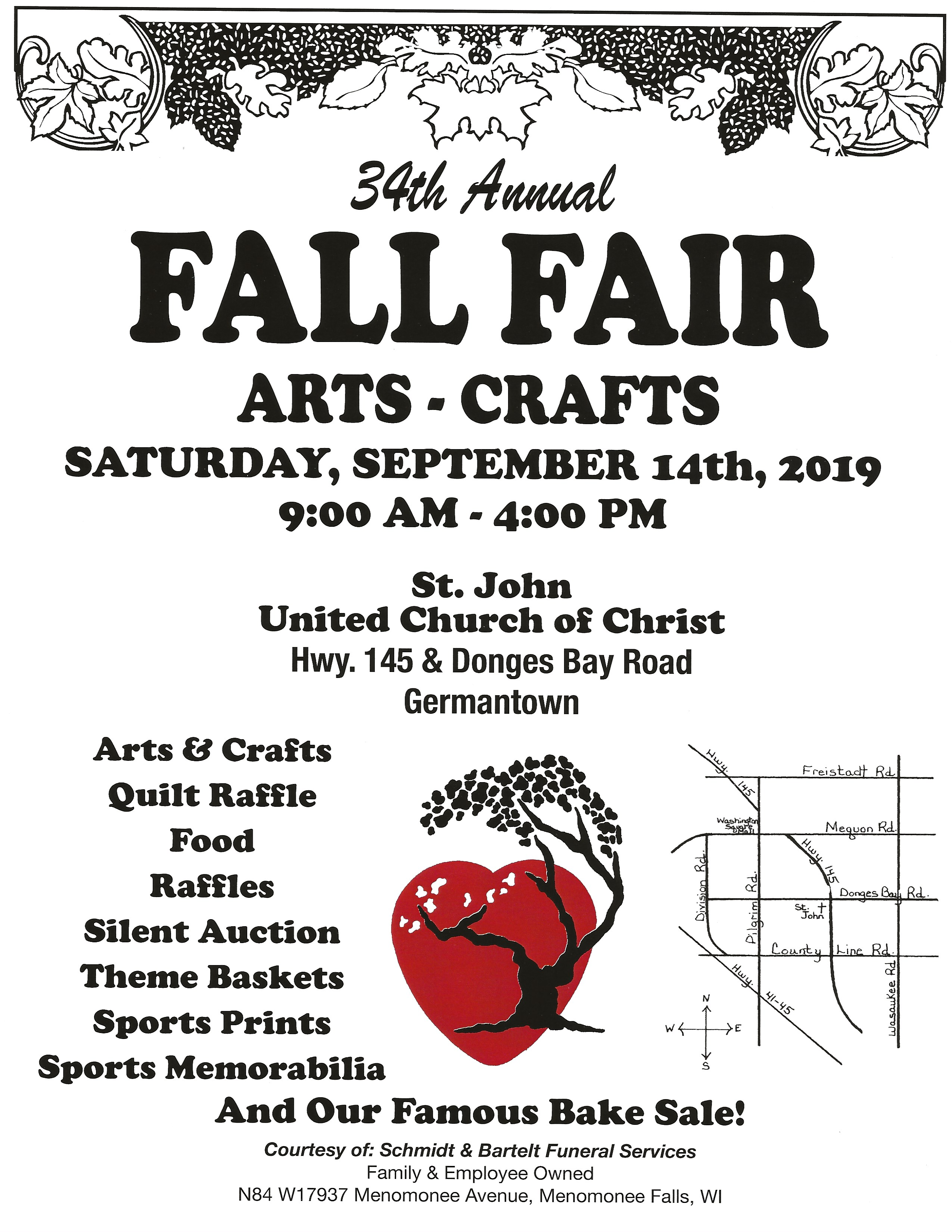 Craft Fair St John United Church Of Christ Germantown Wi